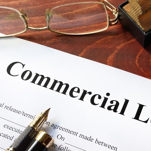 Commercial Rental Agreement - with agent involvement