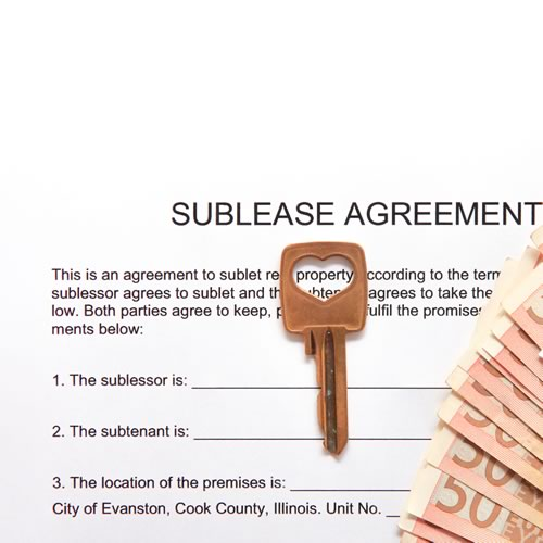 SubLease Agreement  Legal Contracts  Agreements Online