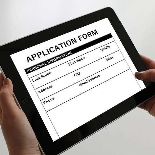 Tenant Application Form – Residential