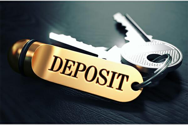 rental deposit